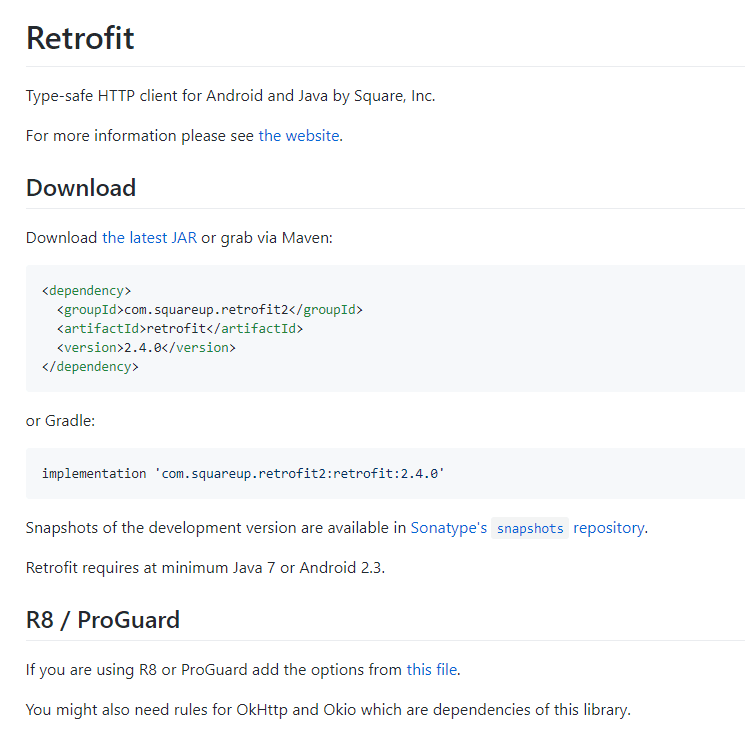 retrofit library obfuscation settings