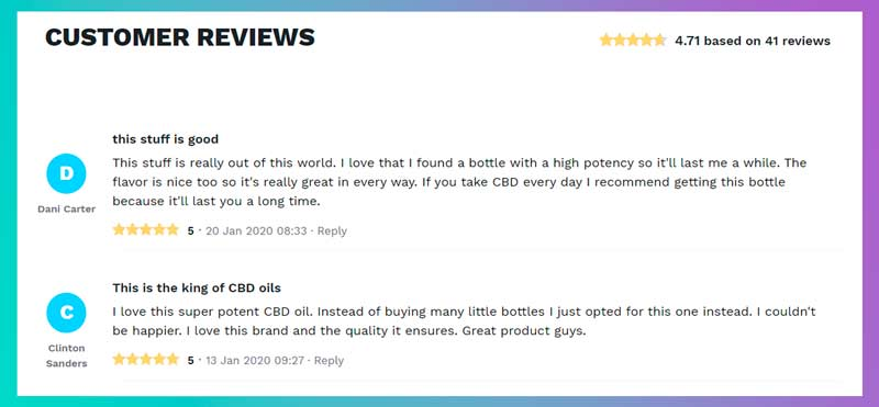 cbd website reviews