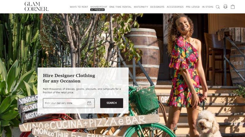 dress rental app