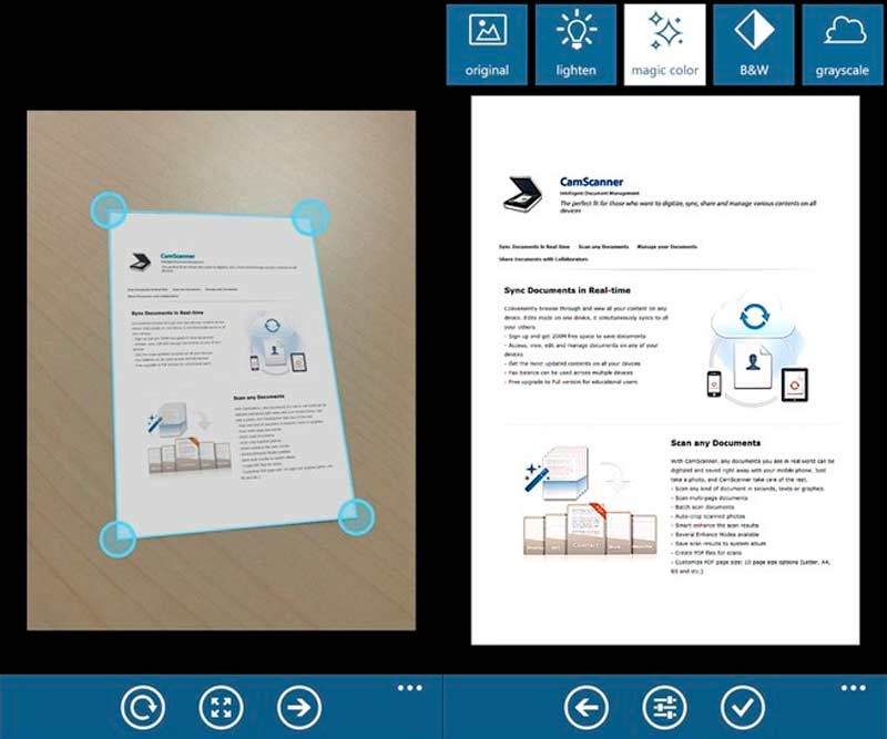 document scanner development