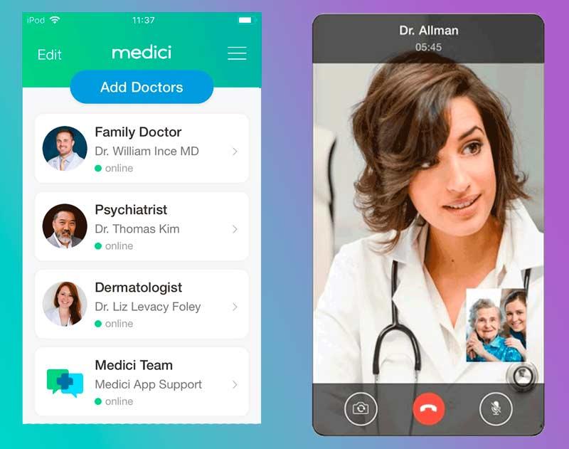 doctor telemedicine app schedule
