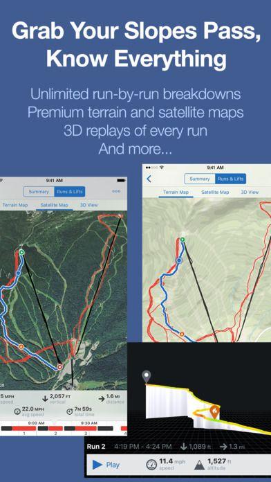 best ski gps app