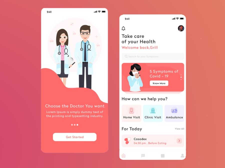 informational application medical healthcare