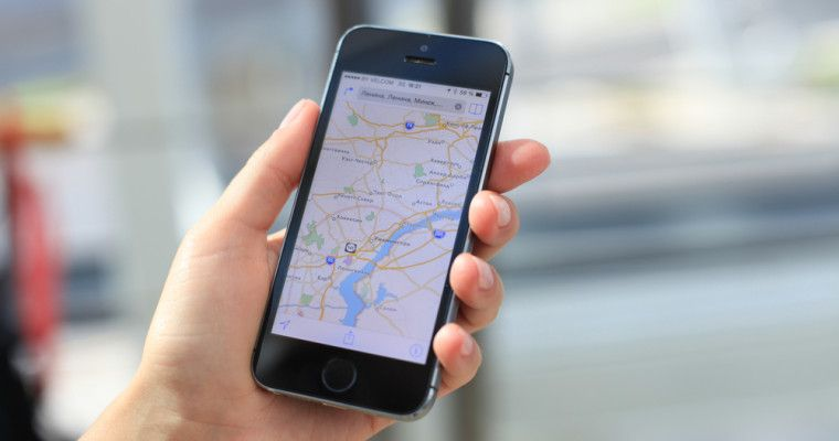 maps mobile app