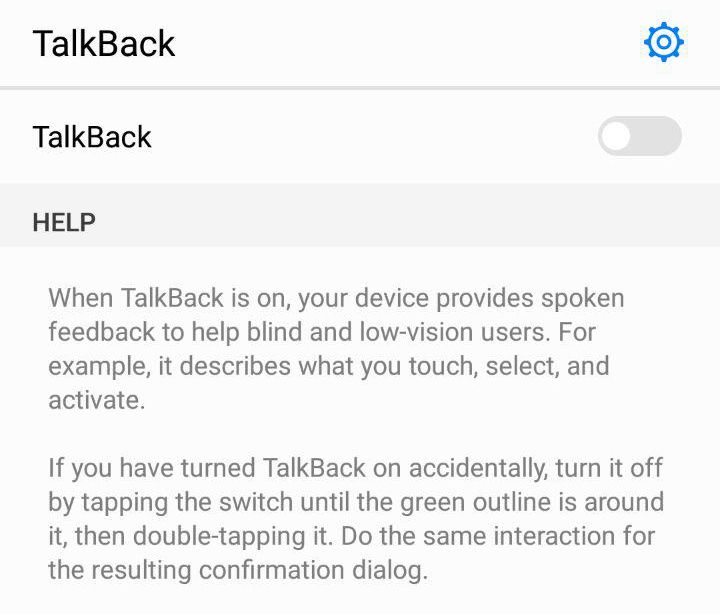 talkback android app accessibility