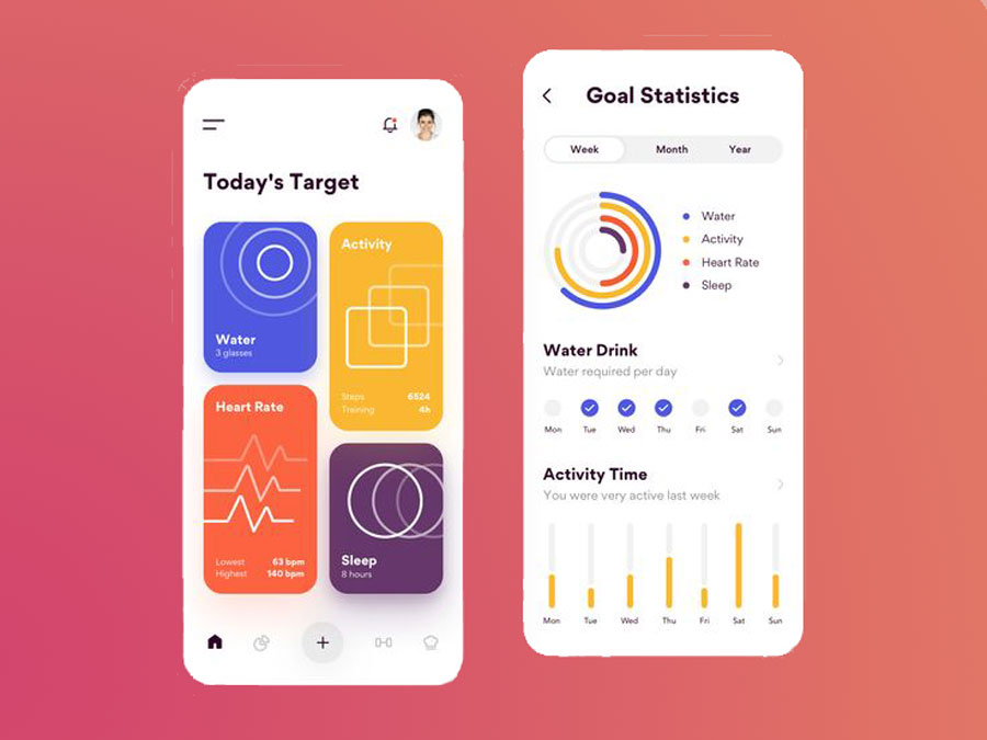 fitness application development services