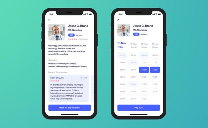 telemedicine smartphone apps