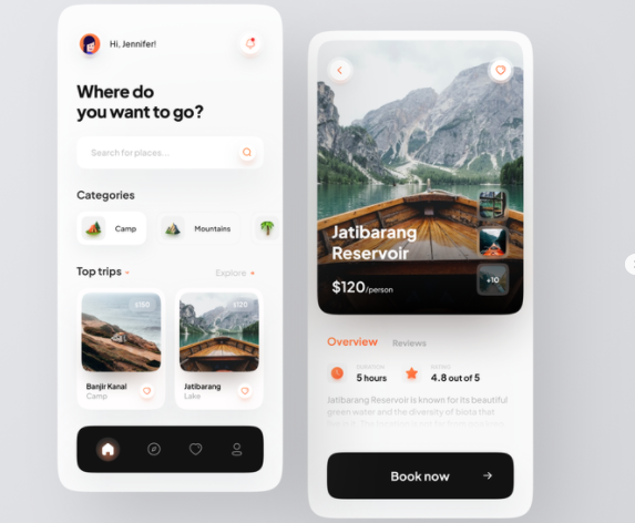 mobile app for tourists