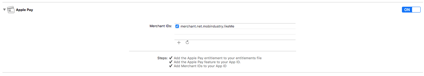 integrate apple pay in ios app swift