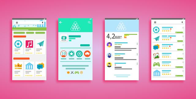 latest mobile design trends