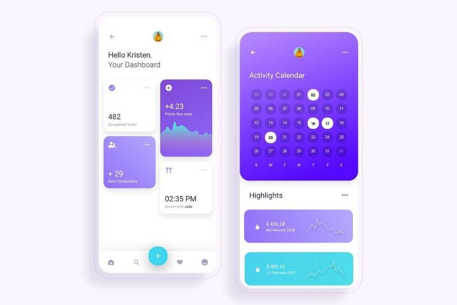 best mobile app ui design