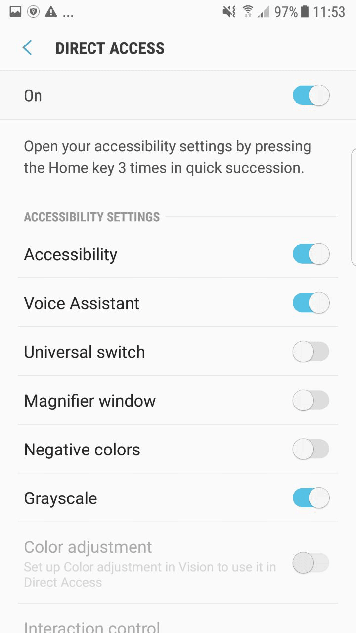 voiceaccess google accessibility app mobile