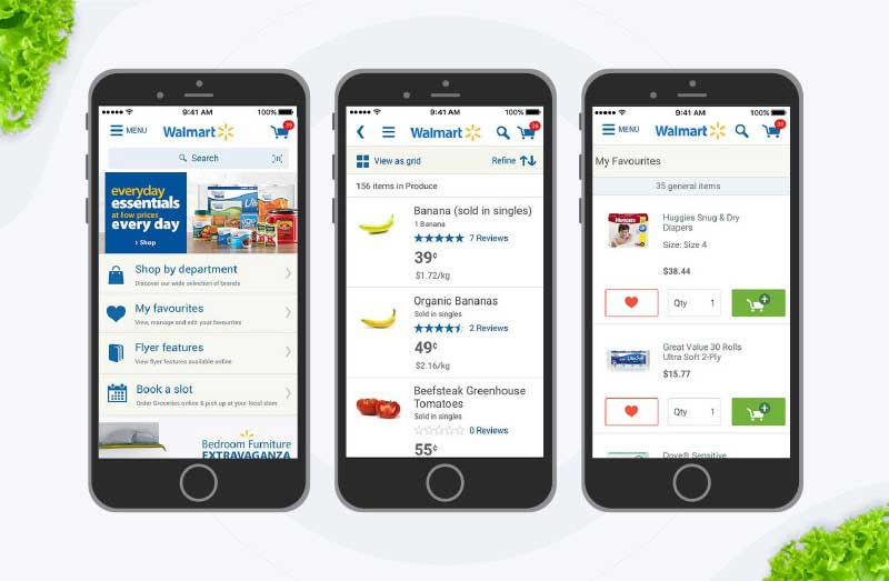on demand grocery mobile app development