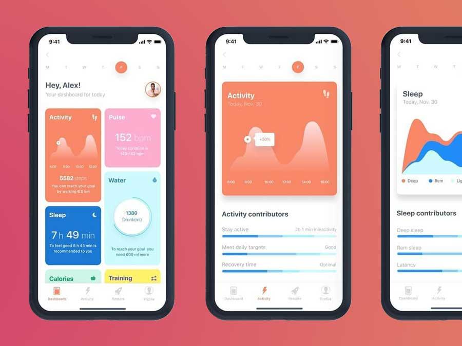 wearable fitness app